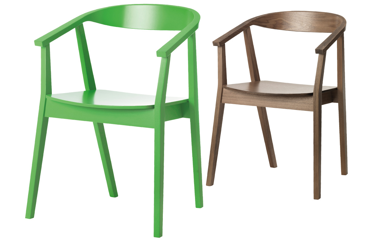 "Stockhom<br /> Wodden chair<br /> Produced by <a target=""blank"" href=""http://www.ikea.com/"">IKEA</a>."